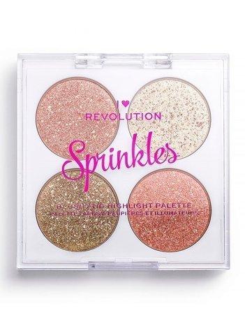 I ♥ Revolution Paletka do konturowania Blush&Sprinkles Confetti Cookie 4 x 1,5 g