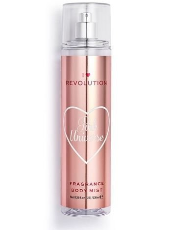 I ♥ Revolution Pink Universe Body Mist Perfumowana mgiełka do ciała grejpfrutowa 236 ml