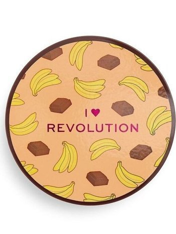 I ♥ Revolution Puder sypki Loose Baking Powder Chocolate Banana 22 g