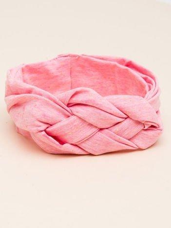 INCA Opaska na głowę dla noworodka różowa