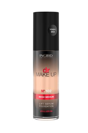 """Ingrid Podkład liftingująco-odżywczy dr Make Up nr 102  30ml"""""""