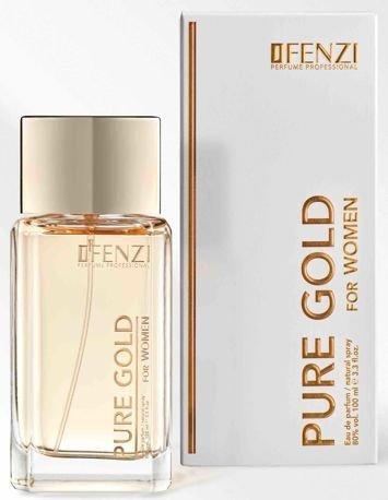 JFENZI Woda perfumowana damska PURE GOLD 100 ml