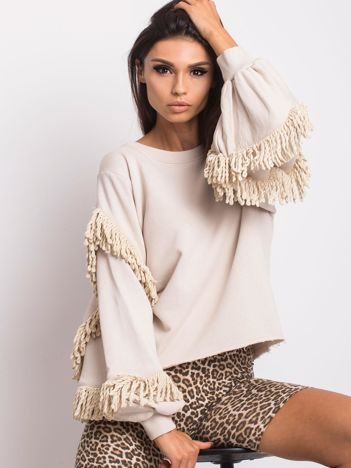 Jasnobeżowa bluza Silvia