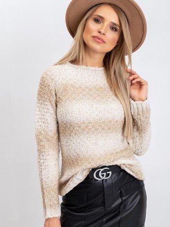 Jasnobeżowy sweter Agatha