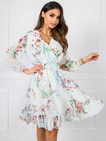 Jasnomiętowa sukienka Angel RUE PARIS
