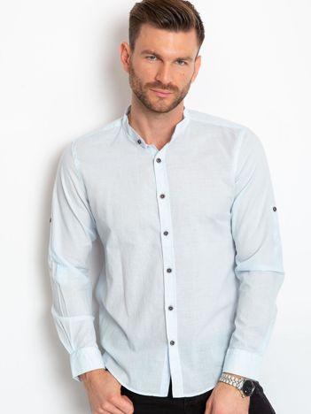 Jasnoniebieska koszula męska Explorer