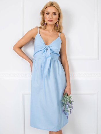 Jasnoniebieska sukienka Julianna RUE PARIS