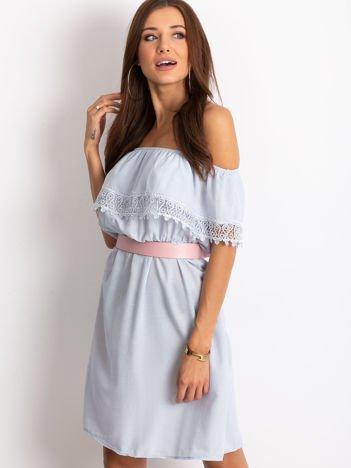 Jasnoniebieska sukienka Serenity