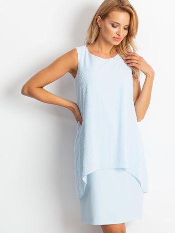 Jasnoniebieska sukienka Suve