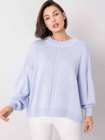 Jasnoniebieski sweter Misty RUE PARIS