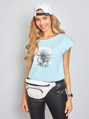 Jasnoniebieski t-shirt Jamaica