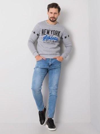 Jasnoniebieskie jeansy męskie Noah LIWALI