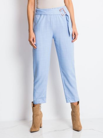 Jasnoniebieskie spodnie Drive