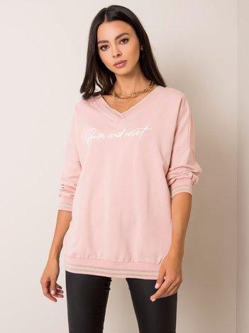 Jasnoróżowa bluza Felice