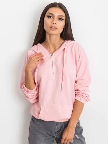 Jasnoróżowa bluza Kimmie