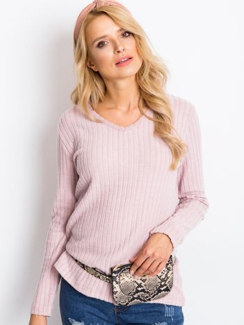 Jasnoróżowa bluzka Elaina
