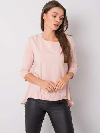 Jasnoróżowa bluzka Lexy