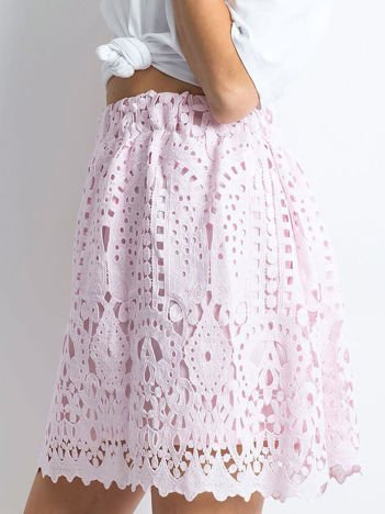 Jasnoróżowa spódnica Princess