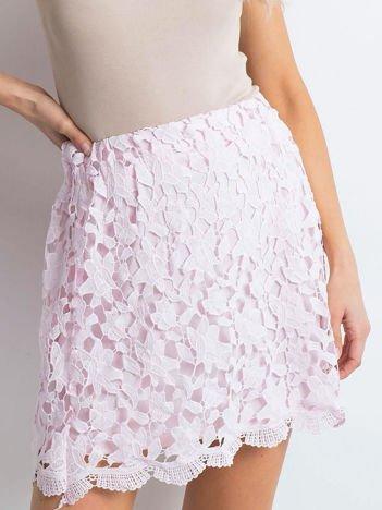 Jasnoróżowa spódnica Very