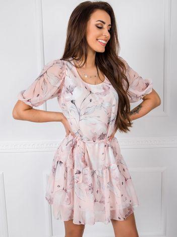 Jasnoróżowa sukienka Daisy