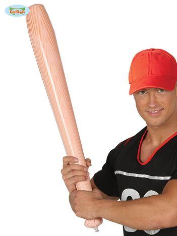 Jasnoróżowy dmuchany kij baseballowy na imprezę