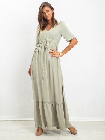 Jasnozielona sukienka Remy