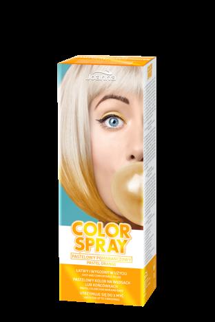 Joanna COLOR SPRAY Pastelowy pomarańczowy 150ml