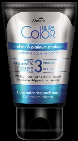 Joanna ULTRA Color SYSTEM Odżywka koloryzująca chłodne odcienie blond 100g