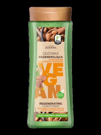 Joanna VEGAN Odżywka regenerująca z proteinami z migdałów 300 g