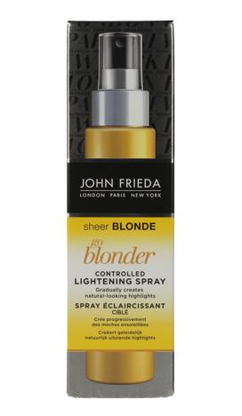 """John Frieda Sheer Blonde Spray rozjaśniający do włosów blond Go Blonder  100ml  new"""""""