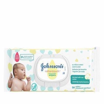 Johnson's Baby Cotton Touch Chusteczki nawilżane dla dzieci 56 szt.
