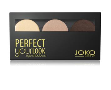 Joko Cienie trio Perfect Your Look nr 300 satynowe