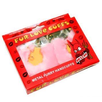 Kajdanki futrzane, które lekko zniewolą i zadowolą! W wydaniu różowym.