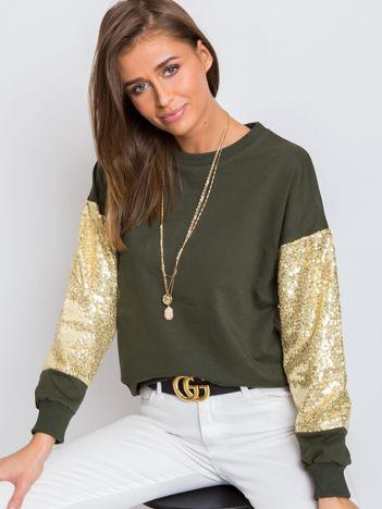 Khaki bluza Mirror
