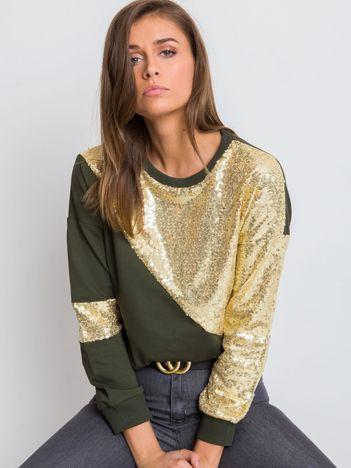 Khaki bluza Shine