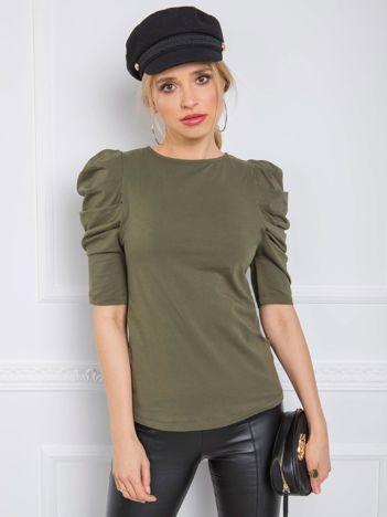 Khaki bluzka Alessandra