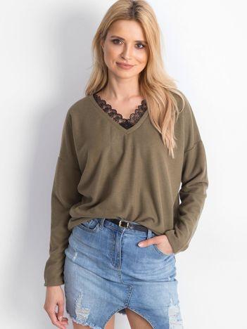 Khaki bluzka Unmissable