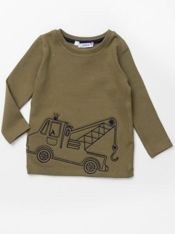 Khaki bluzka dla chłopca