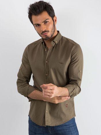 Khaki koszula męska Superior