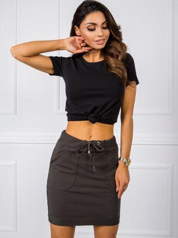 Khaki spódnica Evie