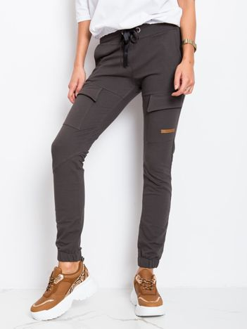 Khaki spodnie Attention