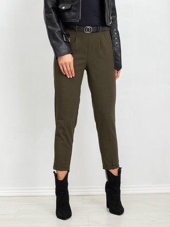 Khaki spodnie Bloom