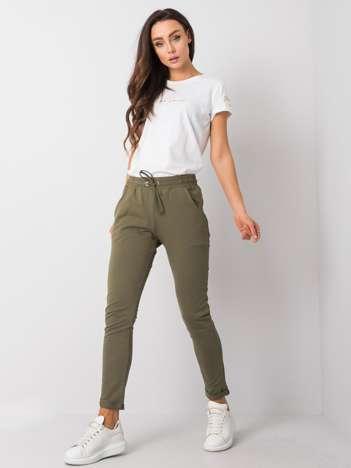 Khaki spodnie Cadence