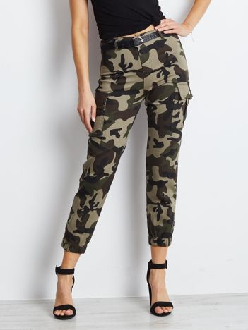 Khaki spodnie Commit