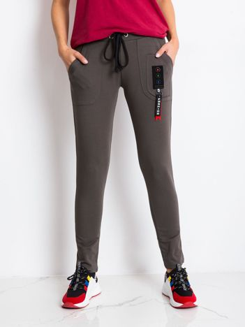 Khaki spodnie Indeed