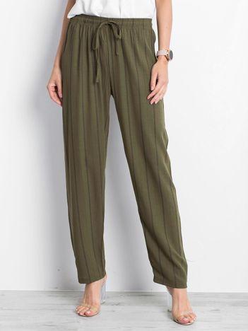 Khaki spodnie Rediscover