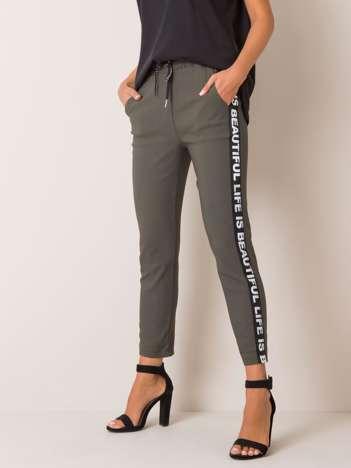Khaki spodnie Samantha
