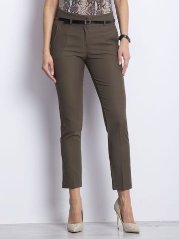 Khaki spodnie Wondering
