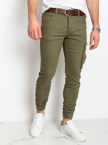 Khaki spodnie męskie Blaine