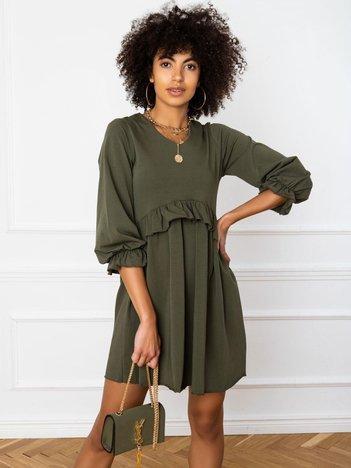 Khaki sukienka Verity